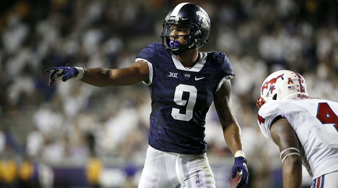 tcu josh doctson wrist injury alamo bowl