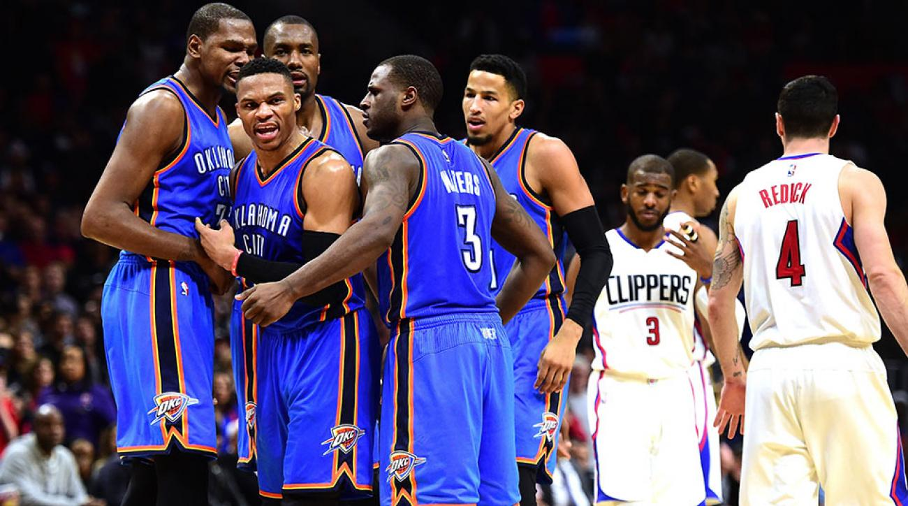 Thunder; Clippers