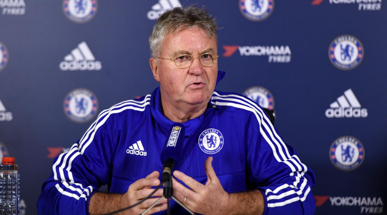 Guus Hiddink, Chelsea manager