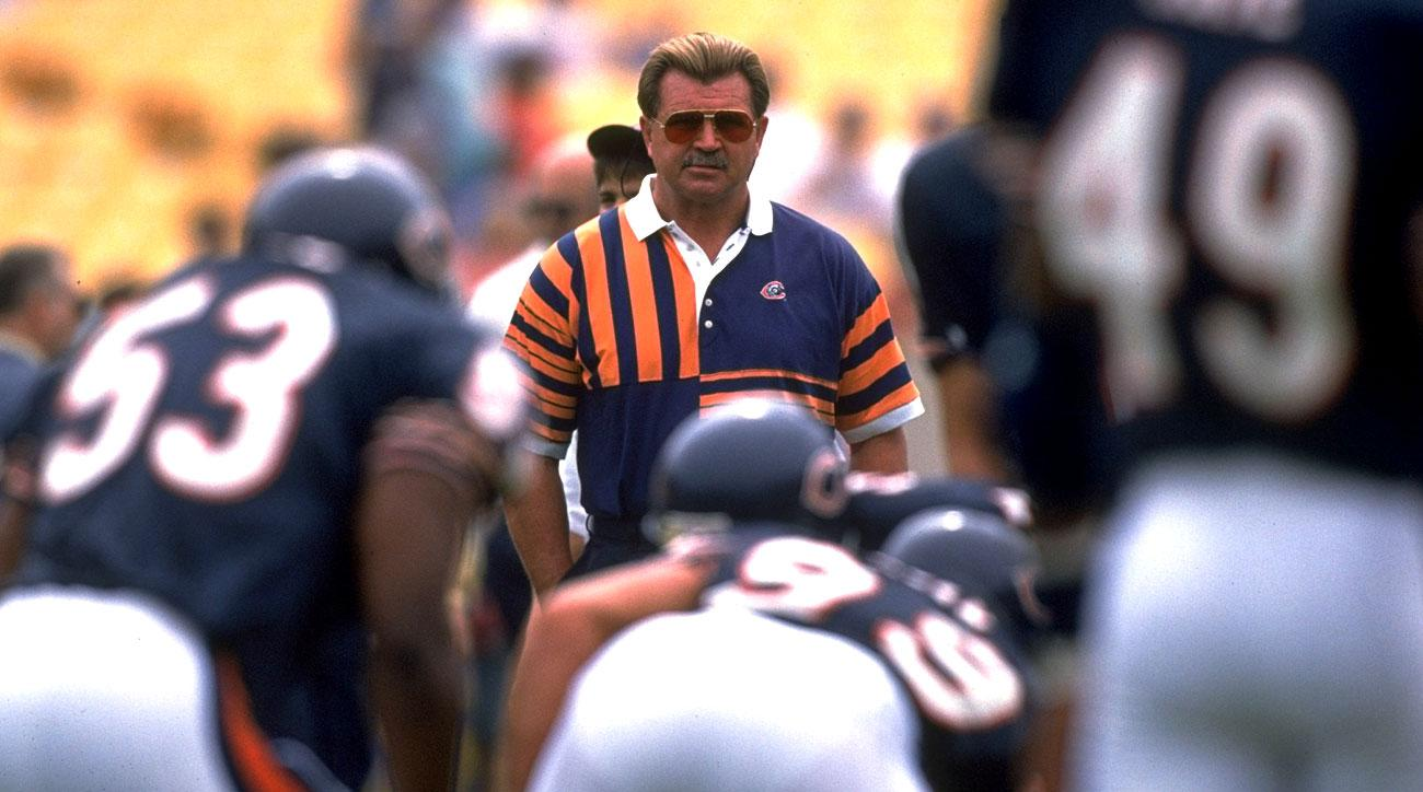 Mike Ditka coached in Chicago for 11 seasons, compiling a .631 winning percentage and cementing his icon status in the city.