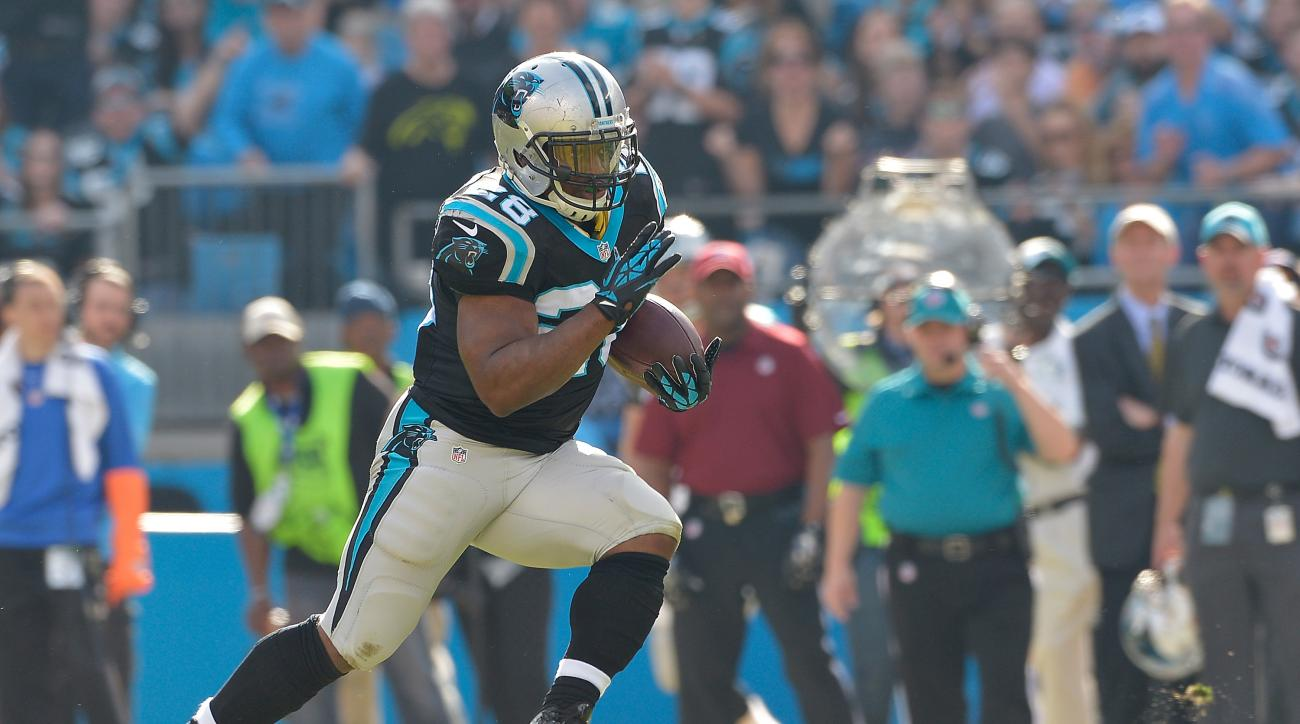 Jonathan Stewart ruled out vs. Falcons