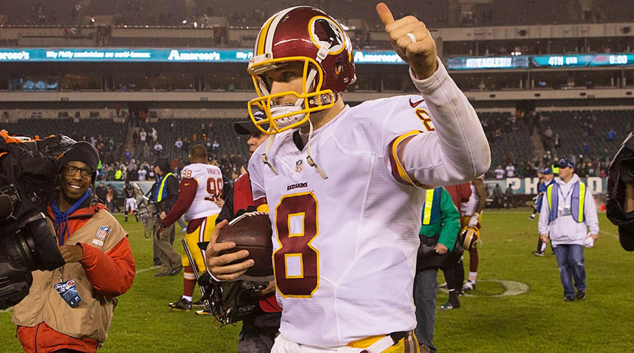 Kirk Cousins and the Redskins won the NFC East on Saturday night.