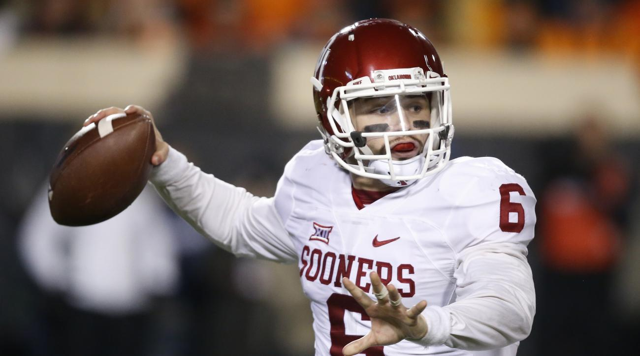 baker mayfield oklahoma sooners comments tcu