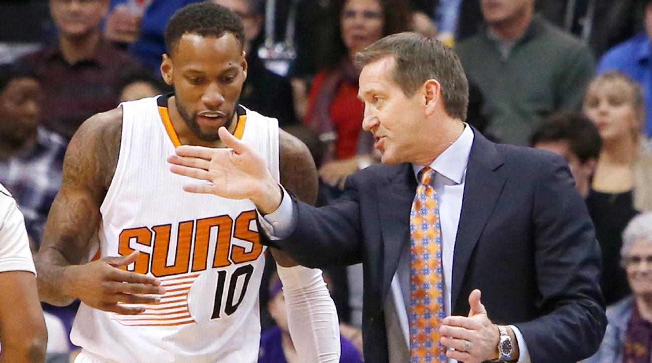 Jeff Hornacek hot seat Phoenix Suns assistants fired