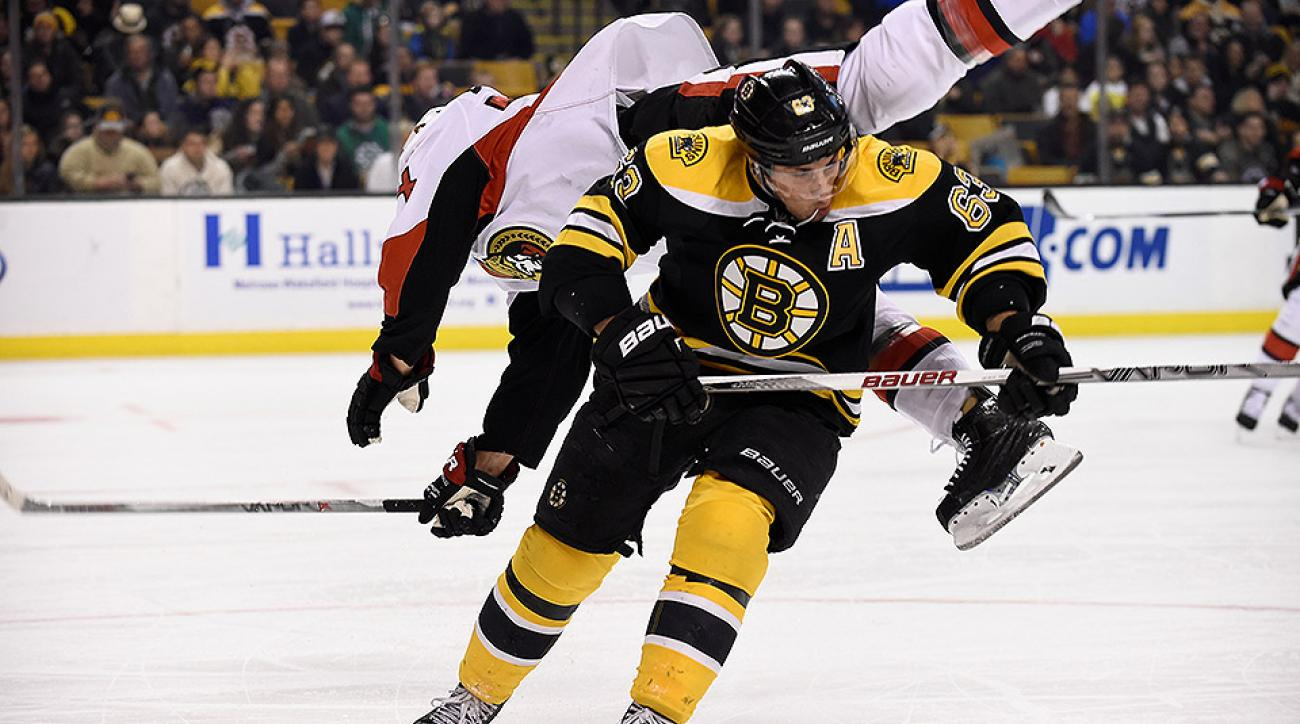 Boston Bruins Brad Marchand