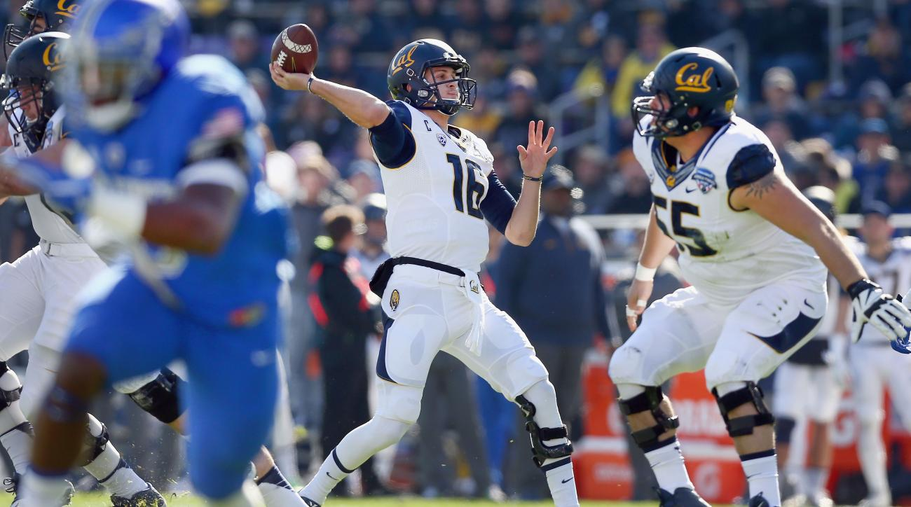 jared goff cal bears passing records