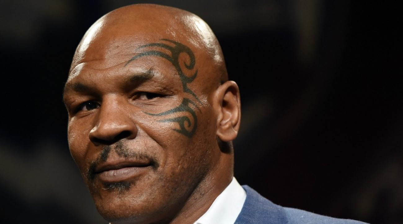 mike tyson hoverboard fall video