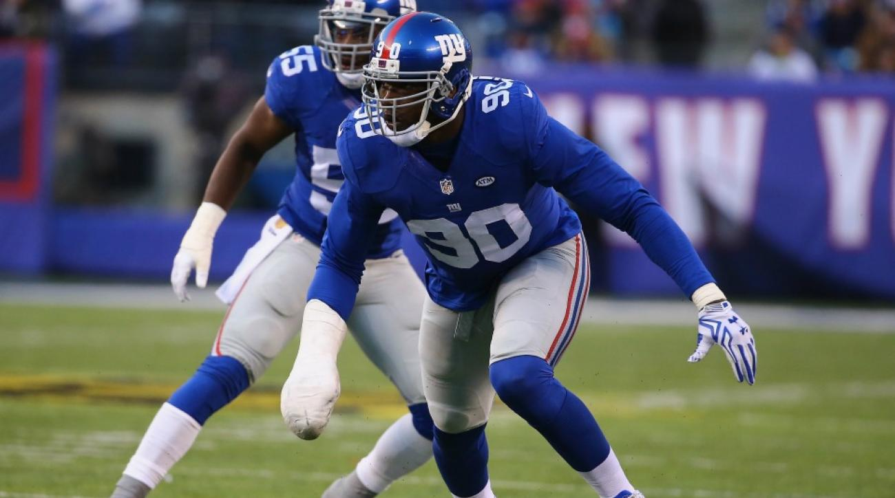 New York Giants' Jason Pierre-Paul wants a win for his birthday