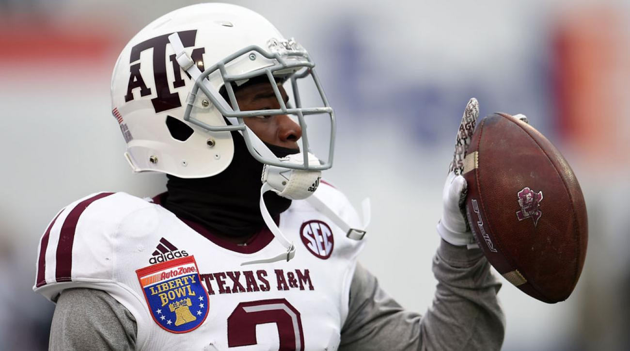 speedy noil suspended texas a&m music city bowl