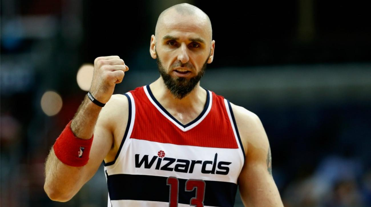 Washington Wizards' Marcin Gortat thought he was traded during a nap