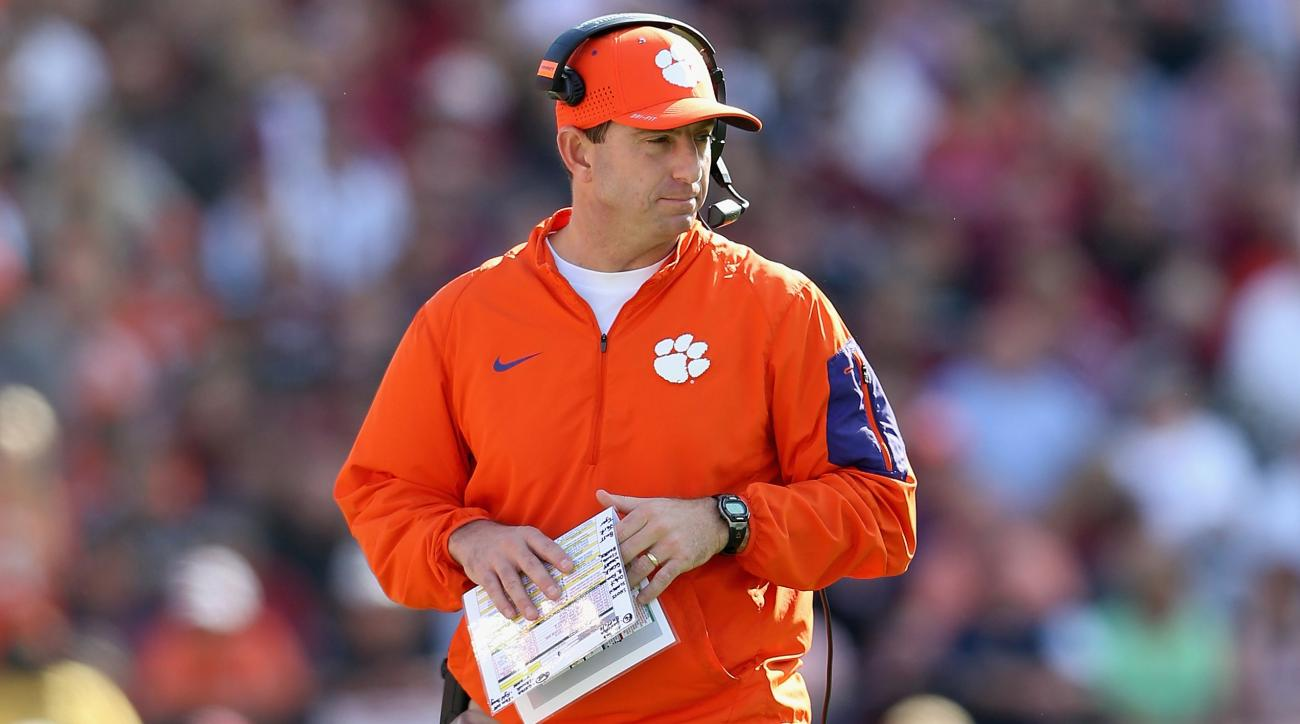 dabo swinney clemson players suspended