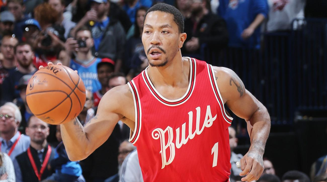 Derrick Rose hamstring Chicago Bulls Indiana Pacers
