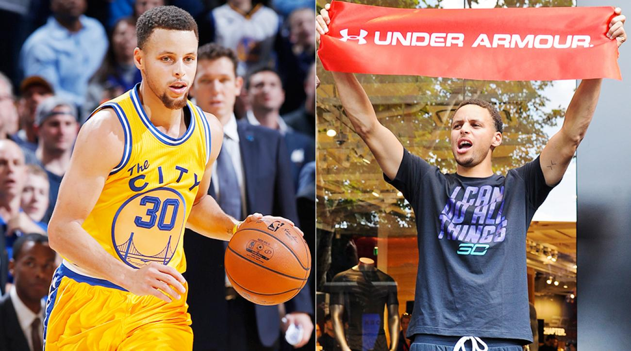 8eefd7015b17 Stephen Curry s NBA brand booming with Under Armour