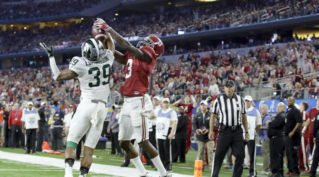 calvin ridley alabama  touchdown catch video