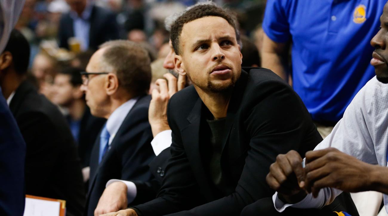 golden state warriors stephen curry leg injury update rockets