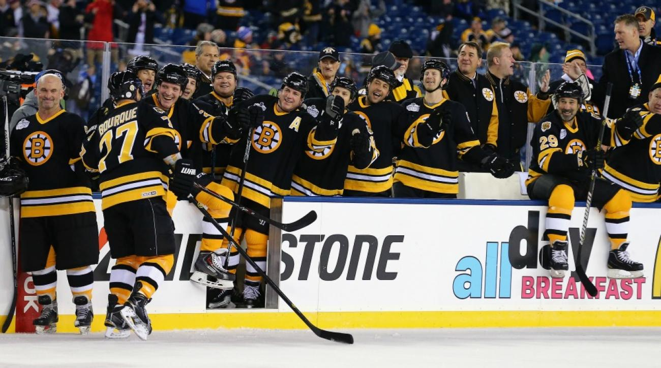 Boston Bruins might get Winter Classic help from New England Patriots