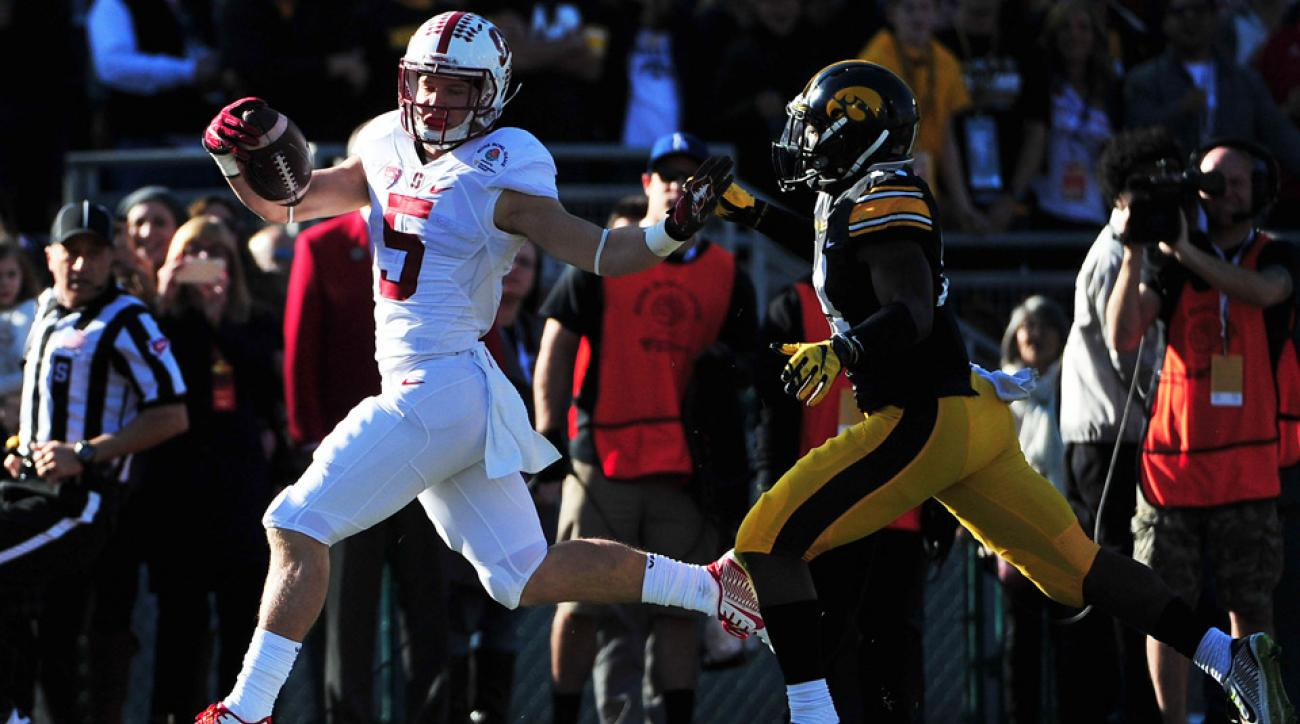 christian mccaffrey rose bowl record