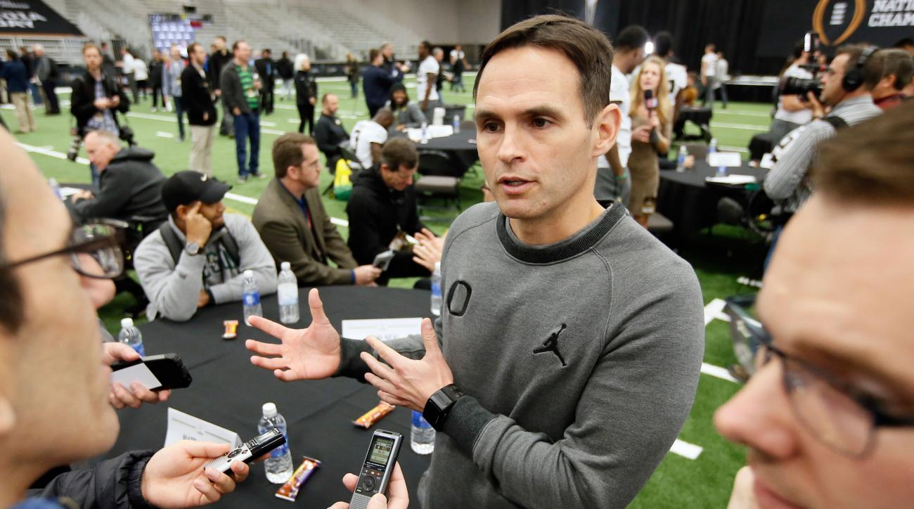 oregon ducks matt lubick promoted offensive coordinator