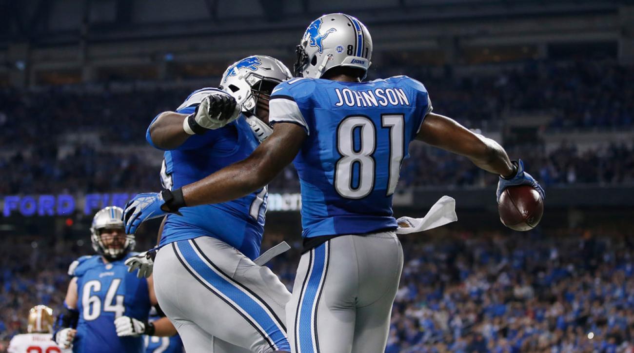 calvin johnson lions touchdown video