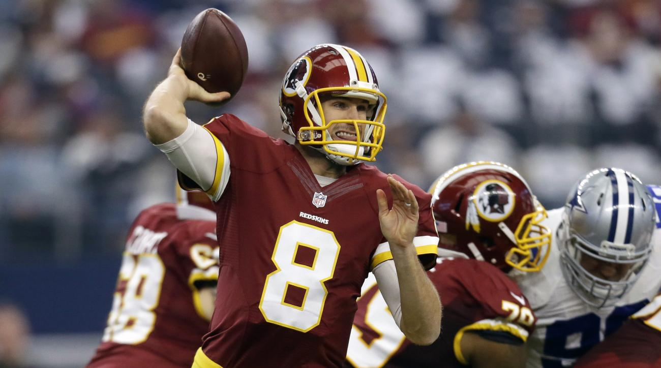 kirk cousins passing record washington redskins