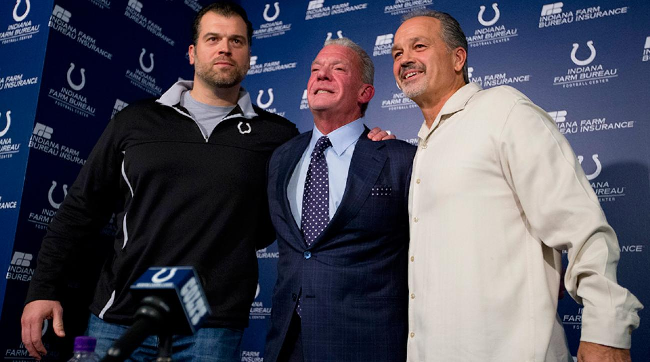 The Colts surprisingly retained Chuck Pagano and Ryan Grigson.
