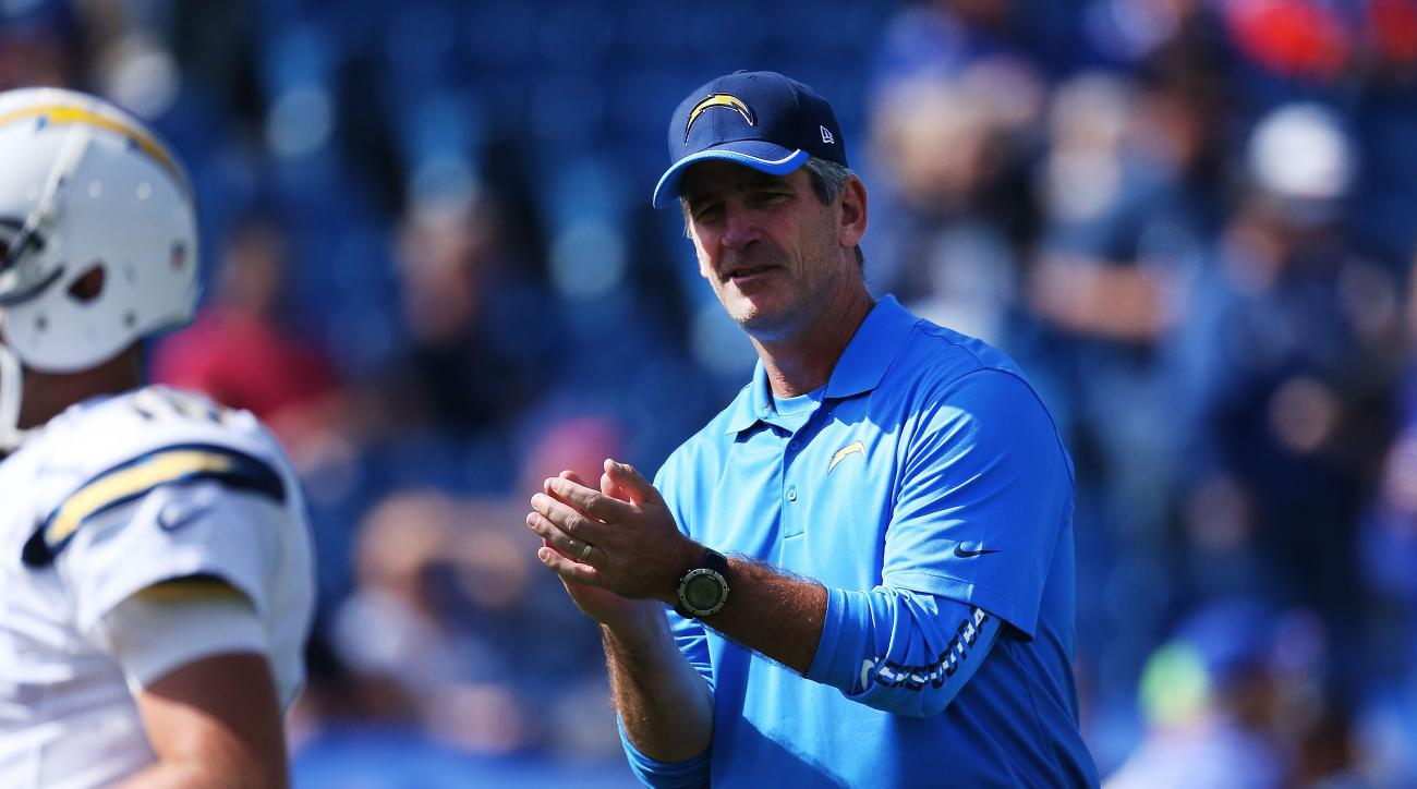 Chargers fire offensive coordinator Frank Reich