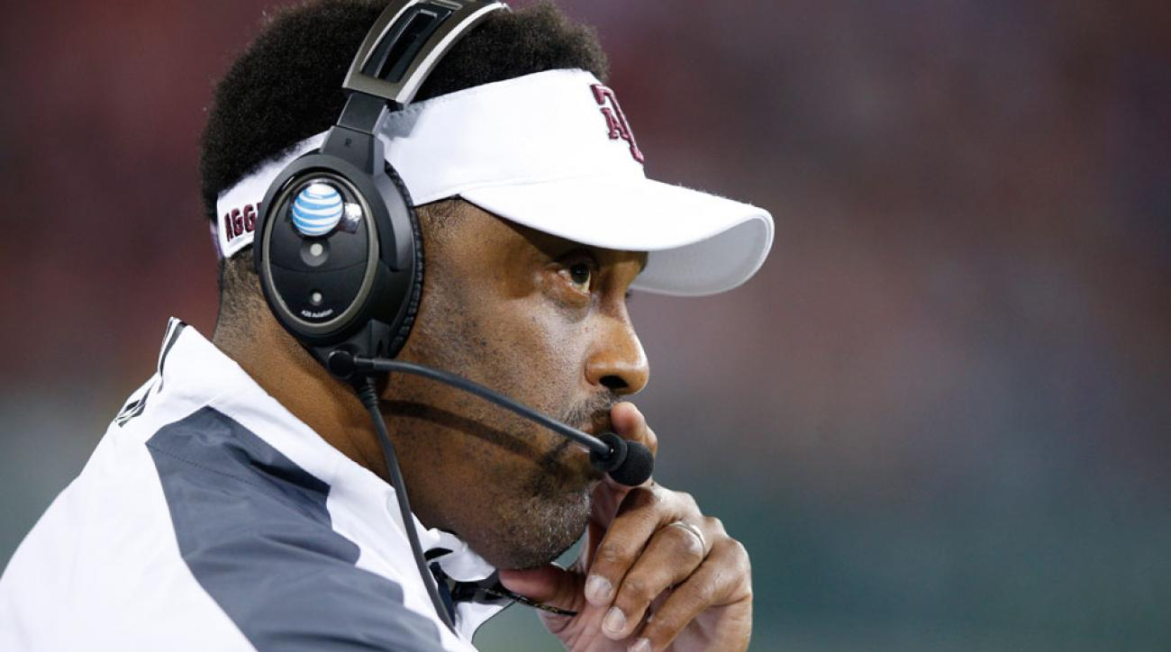 kevin sumlin texas a&m backed aggies football athletic director