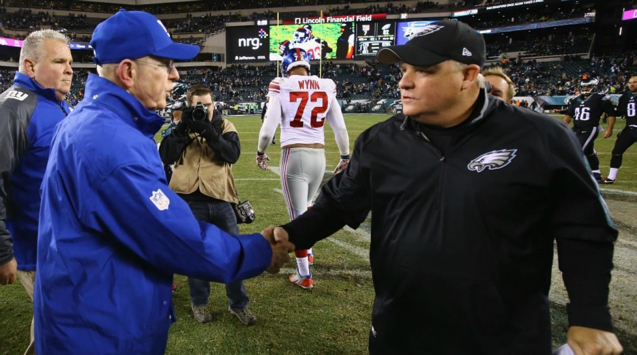Giants' Tom Coughlin, Browns' Mike Pettine, 49ers' Jim Tomsula fired
