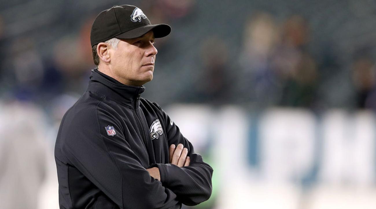 pat shurmur philadelphia eagles head coach interview