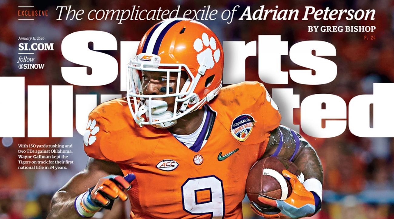 college football championship clemson sports illustrated cover