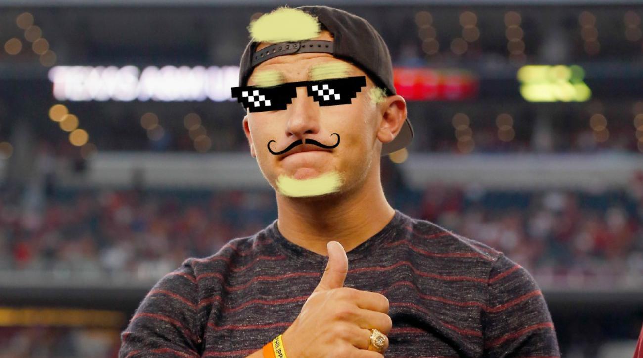 Cleveland Browns Johnny Manziel Las Vegas photoshops
