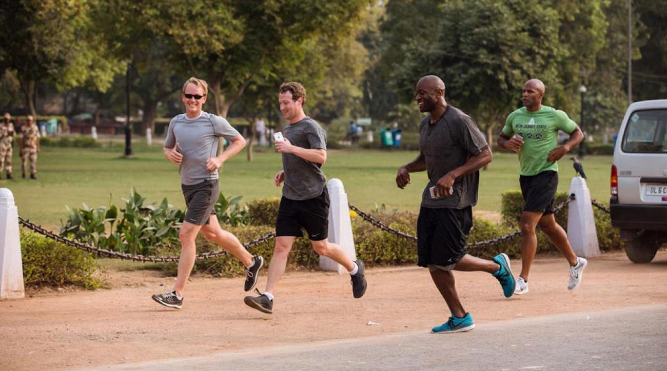 mark zuckerberg running training tips advice