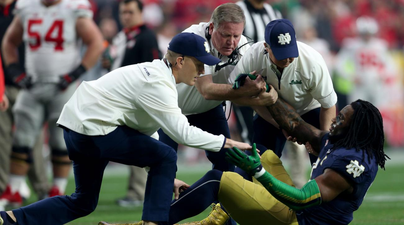 notre dame jaylon smith knee surgery nfl draft 2016