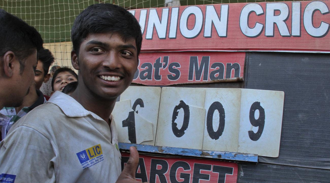 pranav dhanawade sachin tendulkar mumbai cricket record