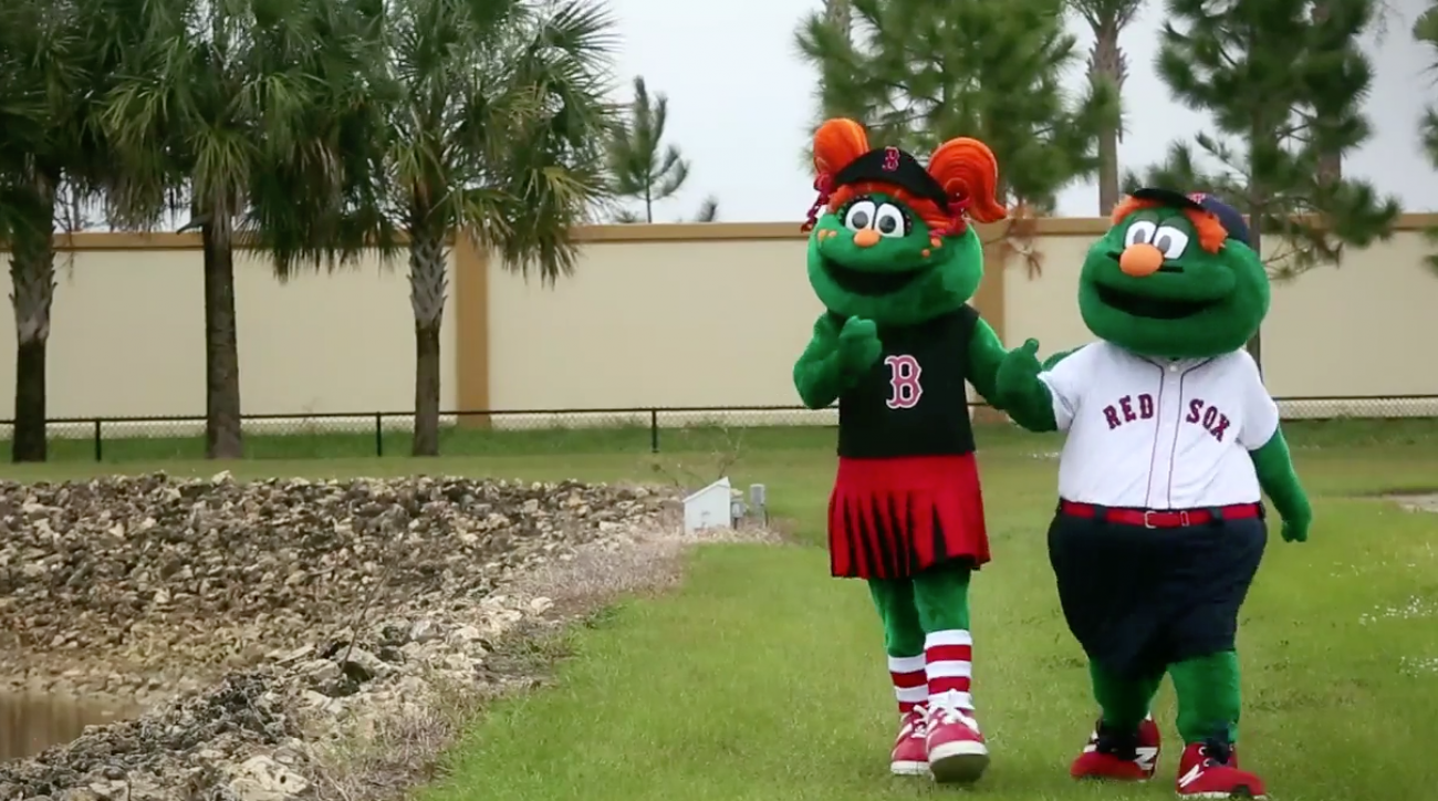 Wally the Green Monster gets little sister