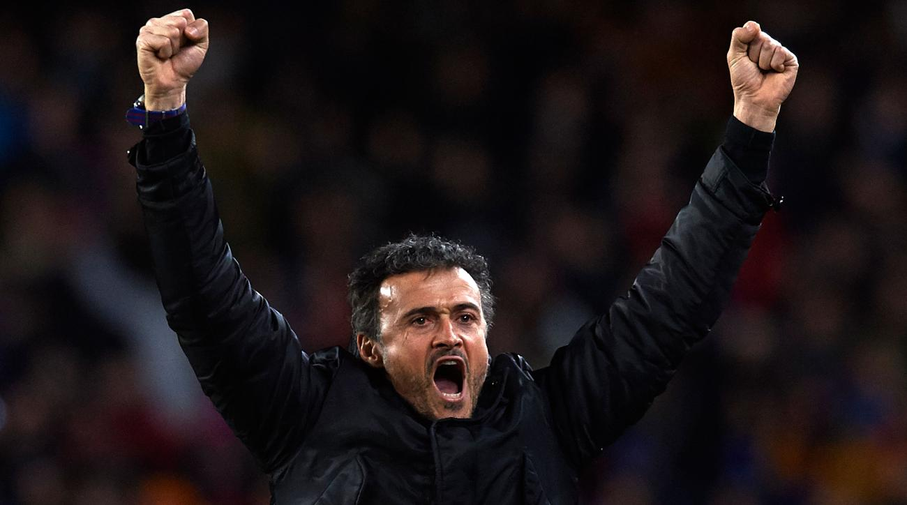 barcelona luis enrique manager of the year