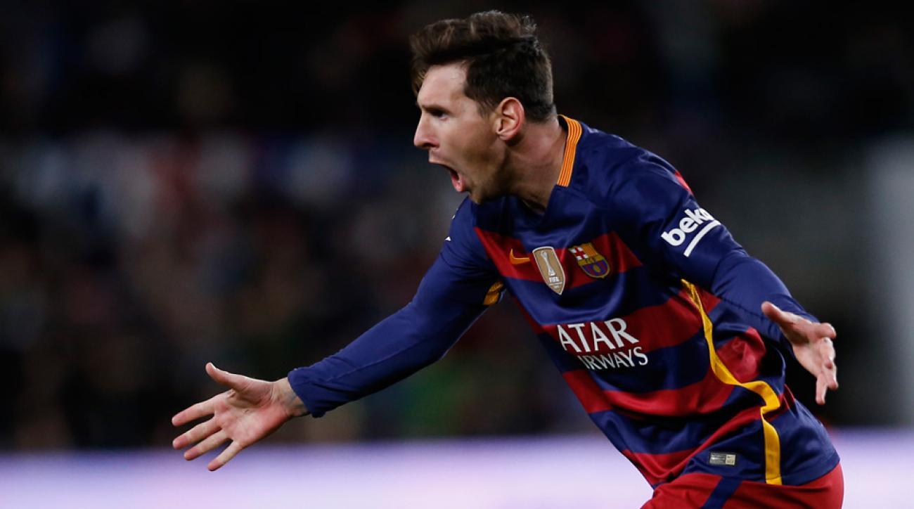 Lionel Messi, Barcelona, Espanyol, Copa del Rey