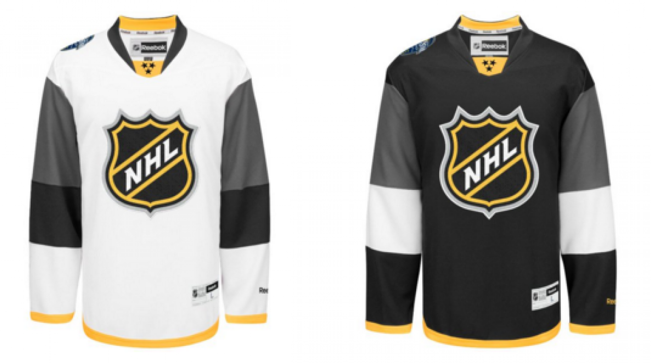NHL reveals new 2016 All-Star Game jerseys