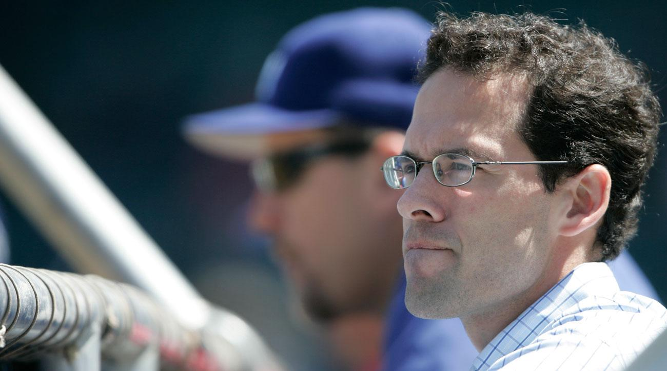 Paul DePodesta, now with the Cleveland Browns, was GM of the Dodgers for 20 months.