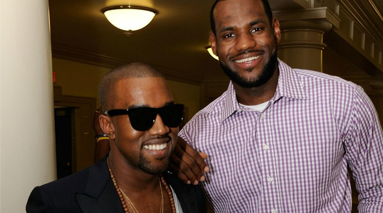 LeBron James, Kanye West do not have a beef, according to West