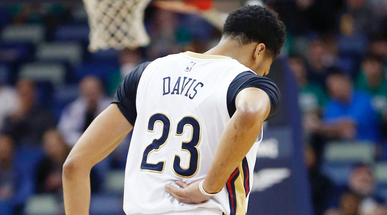 New Orleans Pelicans Anthony Davis injury