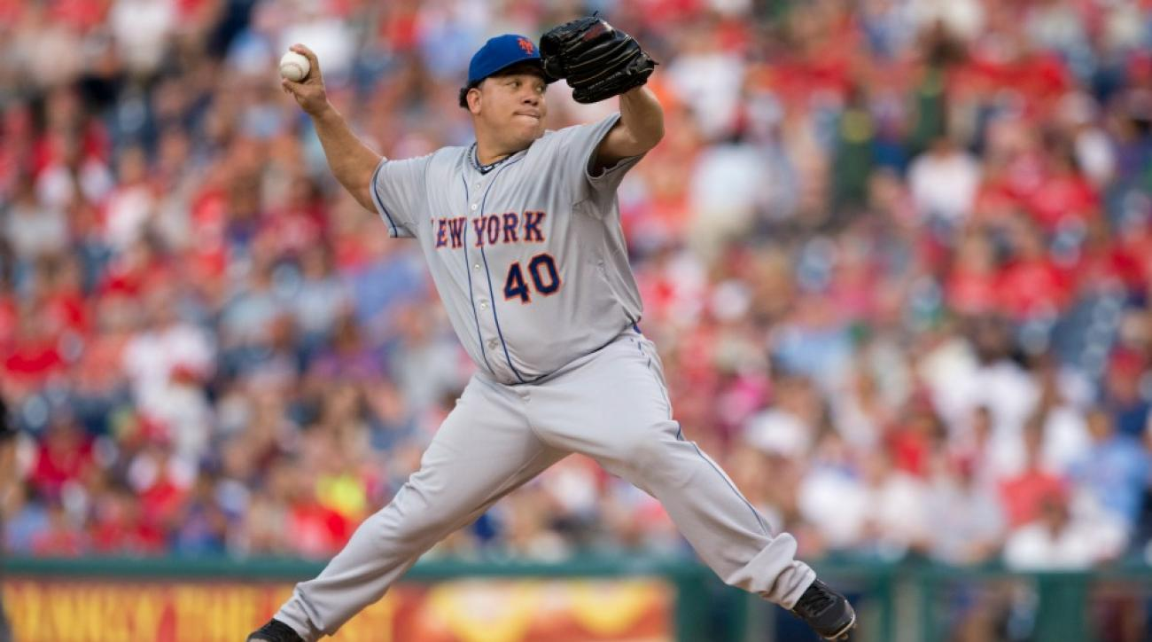 New York Mets' Bartolo Colon workout videos