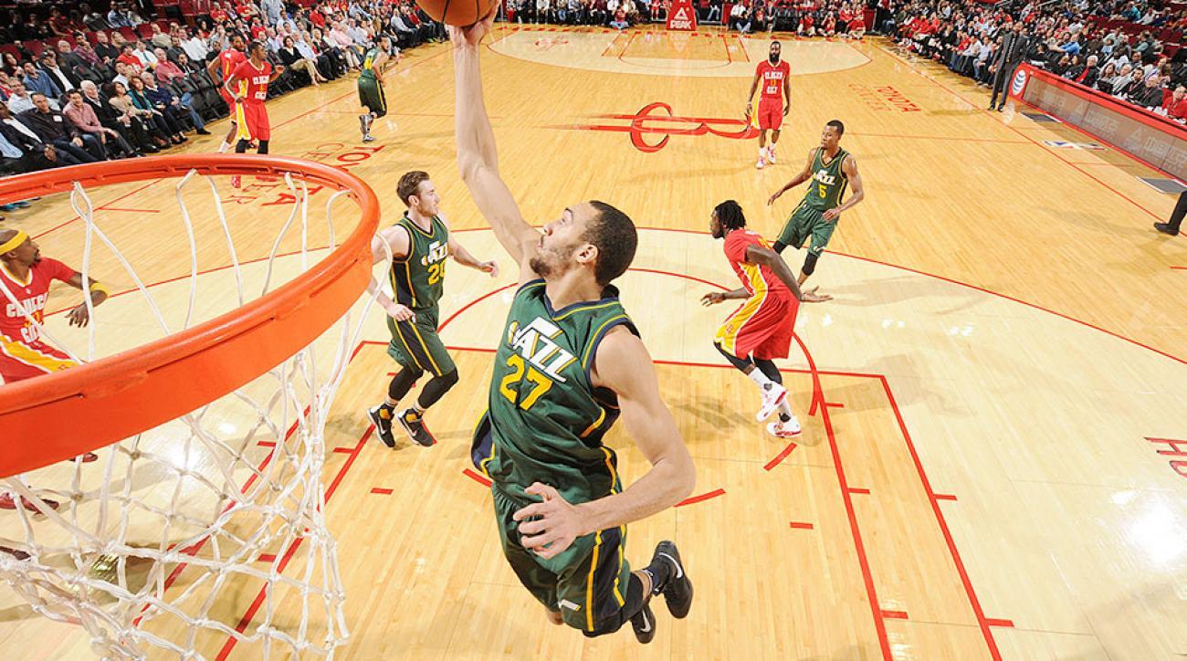 Utah Jazz Houston Rockets Rudy Gobert return