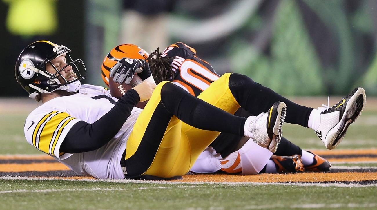 ben roethlisberger steelers injury bengals playoffs