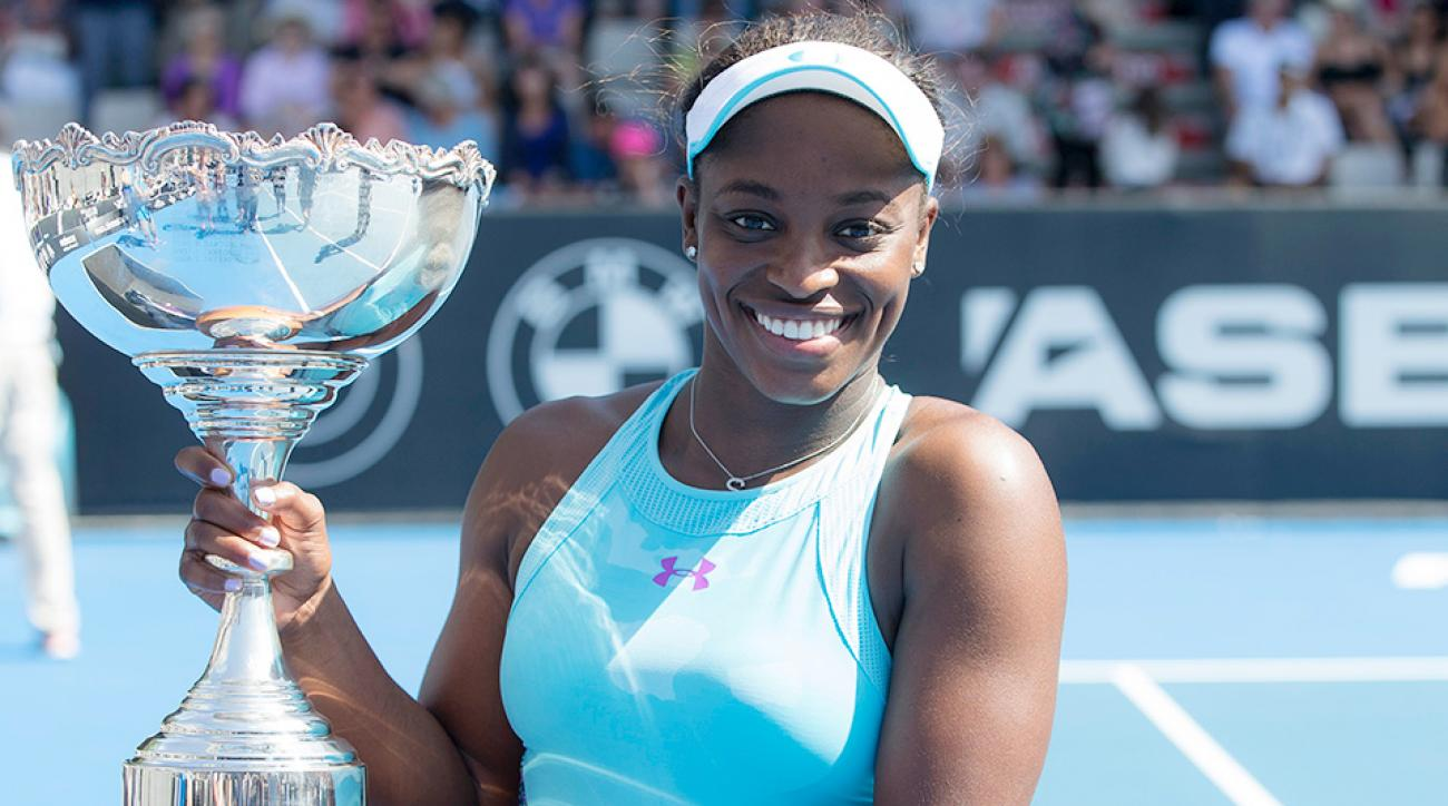 Sloane Stephens WTA second title