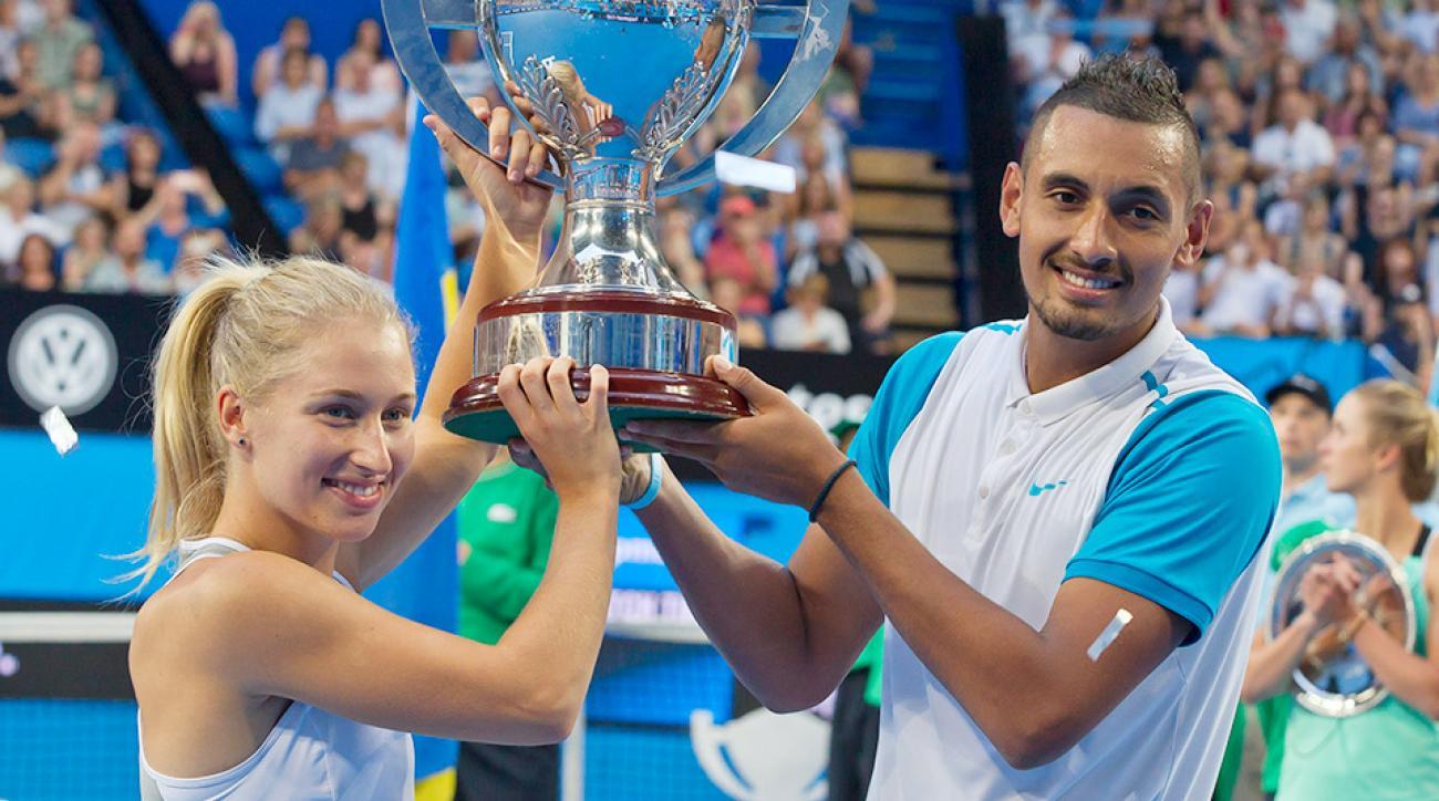 Hopman Cup Australia Ukraine Nick Kyrgios