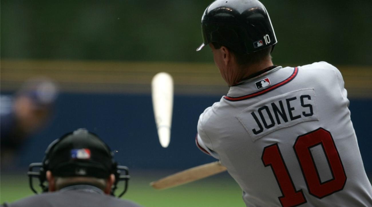 Atlanta Braves' Chipper Jones-themed wedding