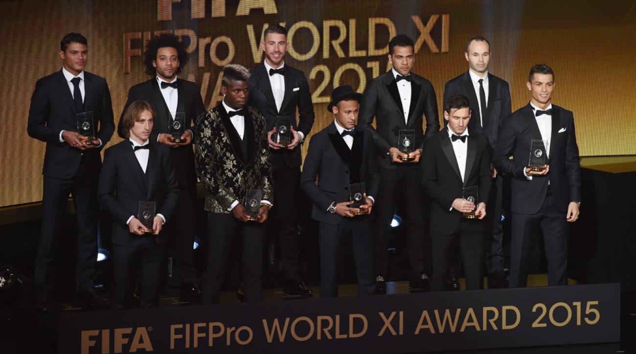 fifa fifpro world xi barcelona real madrid