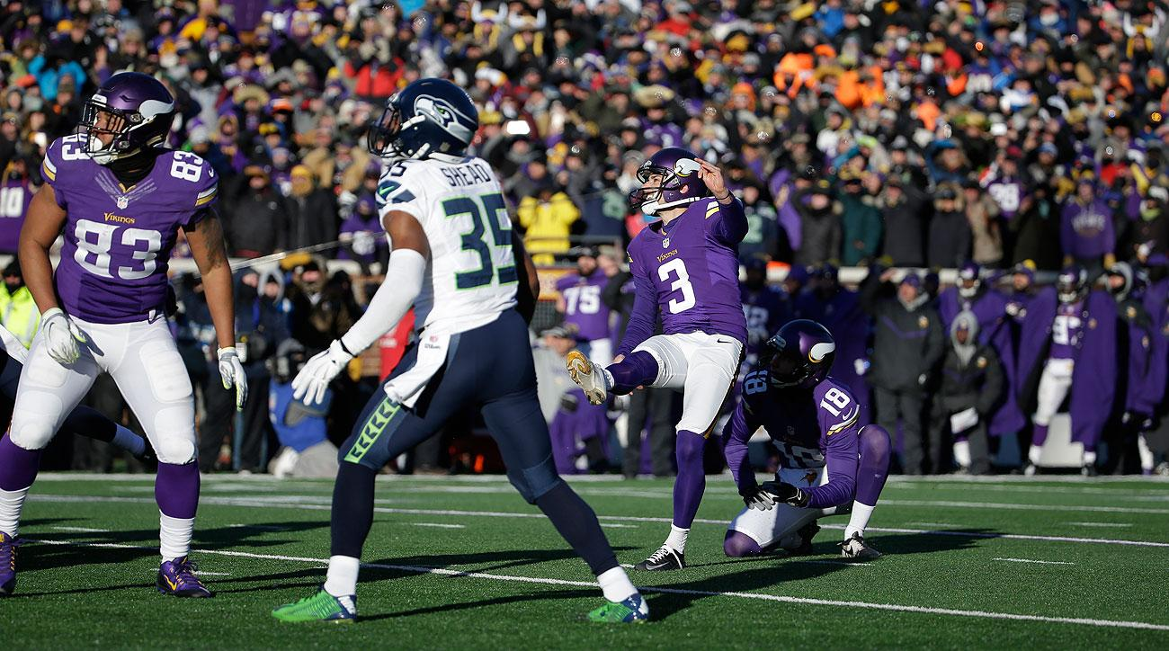 Blair Walsh was 30-for-31 on field goals inside 30 yards for his career before Sunday's fateful miss in the playoffs.