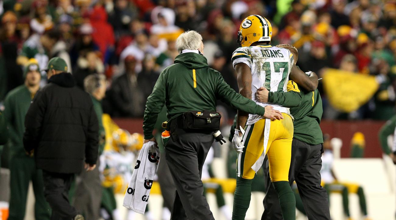 Packers WR Davante Adams unlikely vs. Cardinals